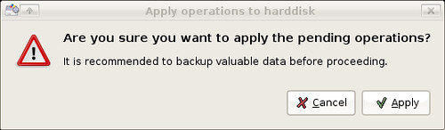 Preparing my USB drive for persistence - continue?