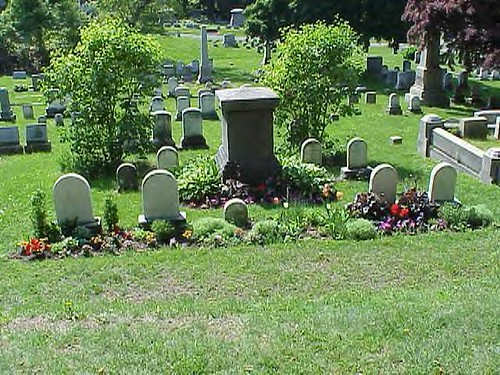 Anthony family gravesite in Rochester