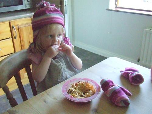 Spaghetti Eating Costume