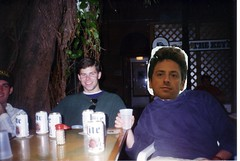 Shawn Collins and Sergey Brin on Spring Break