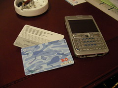 Pre-payed card