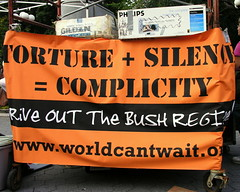 Torture + Silence = Complicity