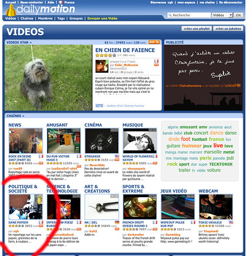 couve dailymotion