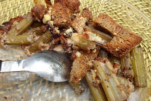 Gratin de céléri-branche à la crème / Creamy celery gratin