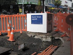 Construction on Queen Street