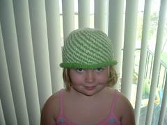Spiral Stripe hat