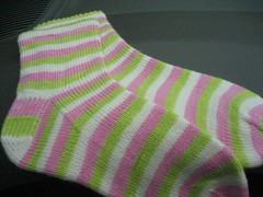 Mini Van socks, done!