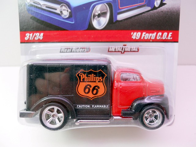 HOT WHEELS DELIVERY SERIES '49 FORD COE (2)