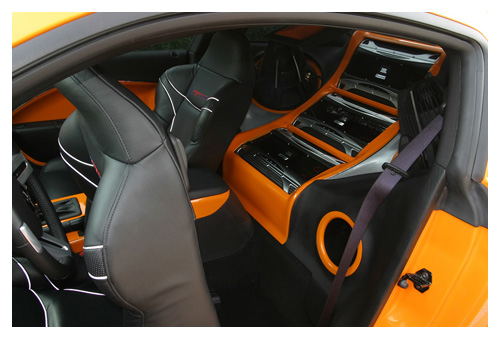 Pimped out interior.