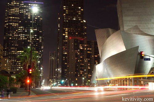 Downtown Los Angeles @ the Disney concert hall