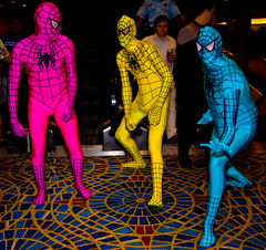 Spiderman In Technicolor