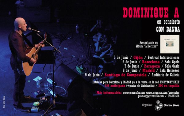 ¡DOMINIQUE A EN GIRA!