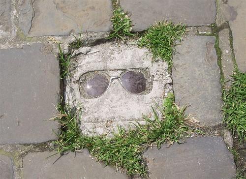 Concrete glasses
