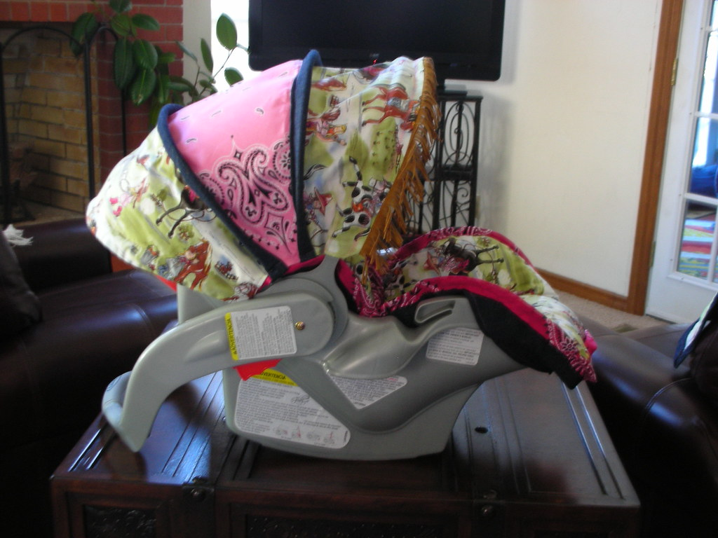 Cowgirl Carseat Cover