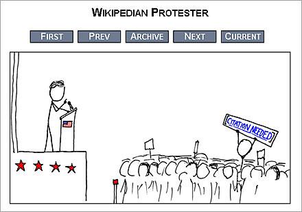 wikipedia protester