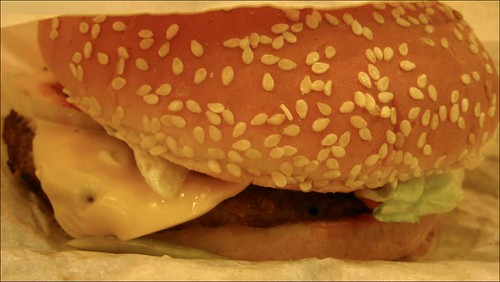 burger king whopper with cheese