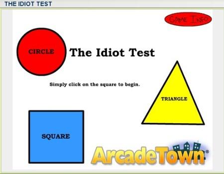 Ir a The idiot test
