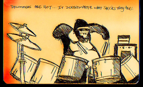 Drummers are hot...