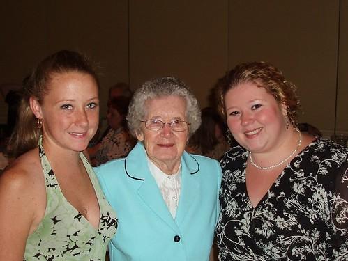 Laura, Grandmaw and I