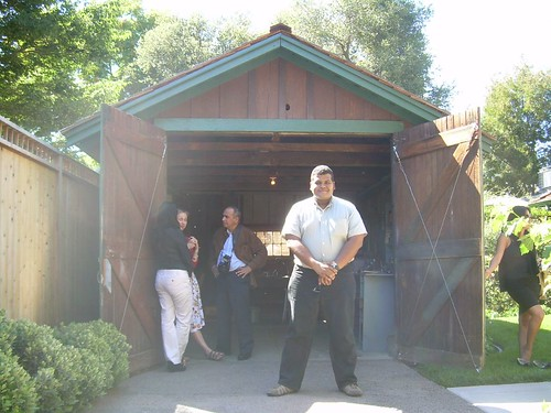 Frente al Garage de HP, en Professorville, Palo Alto