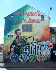 Wandbild mural Osteraufstand Easter Rising Dub...