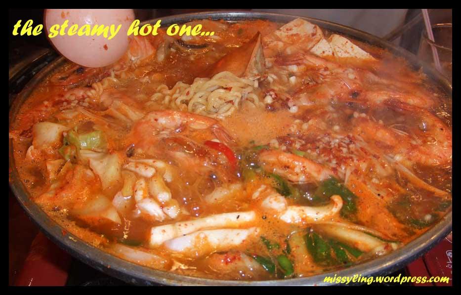kimchi steamboat