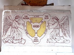 Mill Church Trinity fresco