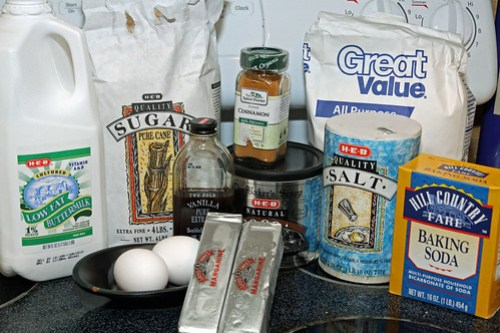 texas sheet cake ingredients