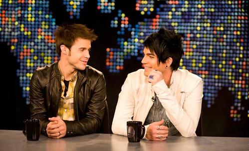 Kris Allen Adam Lambert Kradam bromance
