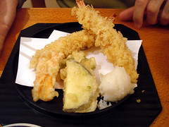 Tempura Prawns and Vegetables