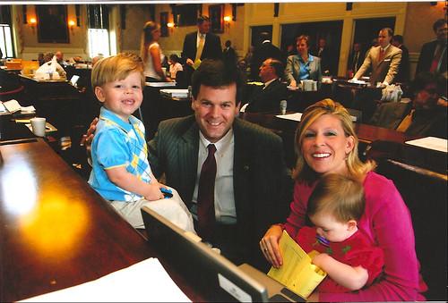 S.C. Rep. Nathan Ballentine & Family