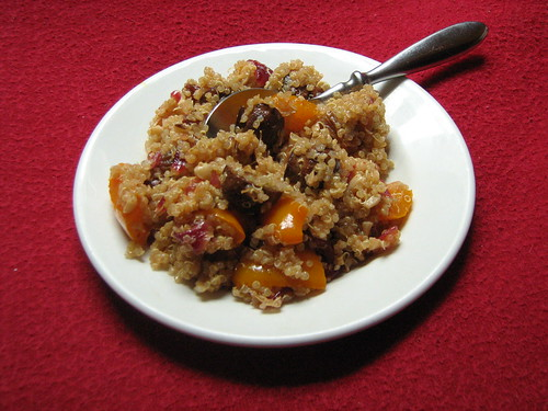 kiki's sweet and spicy quinoa salad