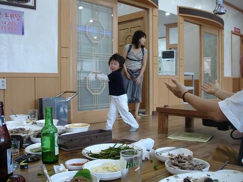 Kinder im Restaurant