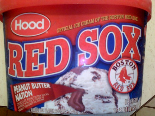 Red sox ice cream