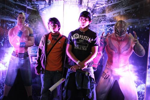 EGS 2010: Fans de la lucha libre