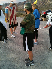 Runners in Costume