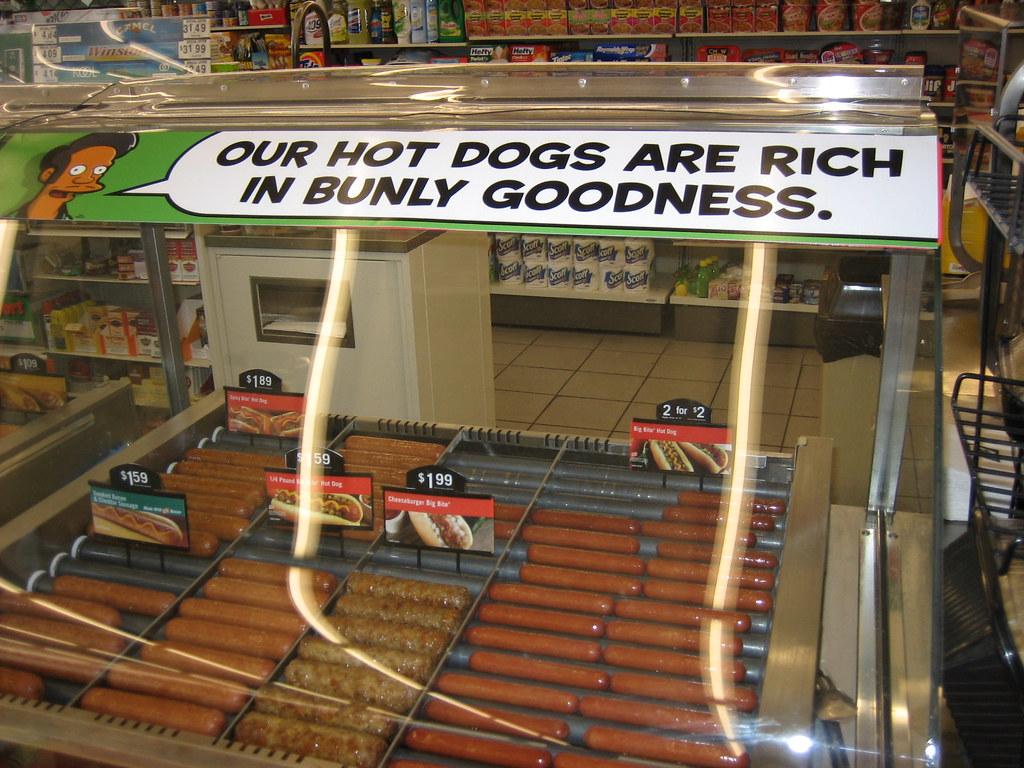 Apu's hotdogs