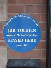 J.R.R. Tolkien Stayed Here