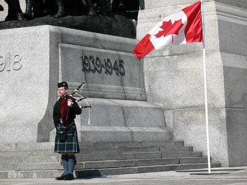 The Bagpiper, photo taken by Athena in 2007, licensed under Creative Commons BY-NC-ND.