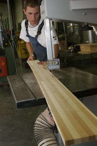 Boheme, skis, core preparation.
