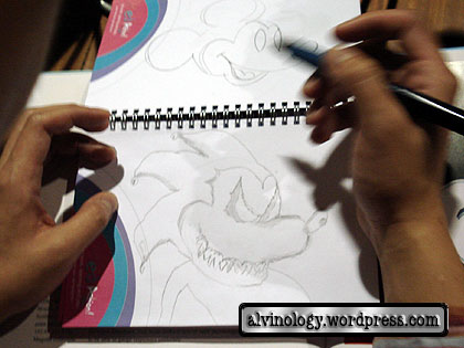 Ding An drawing