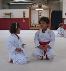 CC Tyler and Julia at Aikido via flickr von inky