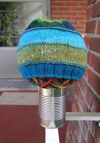 scrap-happy celebration hat - modeled 2
