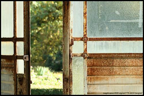 vrata staklenika