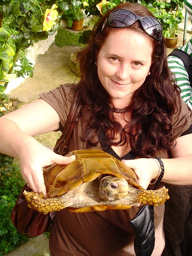 Me and a Turtle!
