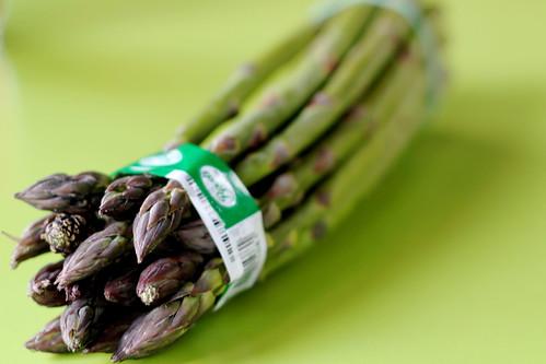 Sunday: Asparagus is back in season