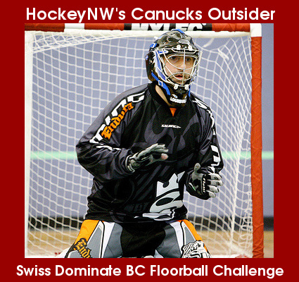Canucks Outsider - Swiss Dominate BC Floorball