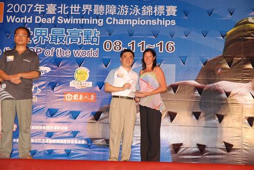 2007聽障游泳錦標賽-閉幕典禮-澳大利亞