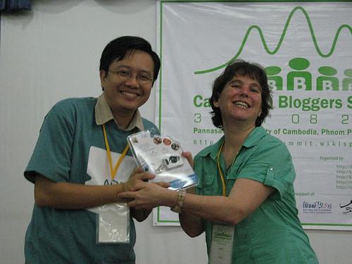 Cambodian Bloggers Summit 2007 Award