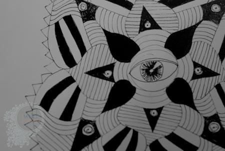Mandala:  Spiky & Mean